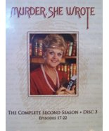 Murder, She Wrote: The Complete Second Season, Disc 3, Episodes 17-22 [D... - $59.98
