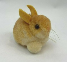 "Vintage Steiff Wool Pompom Bunny Rabbit Miniature Small 2"" Easter Plush ... - $49.49"