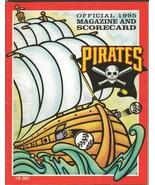 ORIGINAL Vintage 1995 Pittsburgh Pirates Magazine Scorecard (Scored) vs ... - $19.79