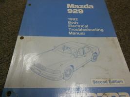 1992 Mazda 929 Körper Elektrisch Wiring Troubleshooting Service Manuell 92 - $7.42