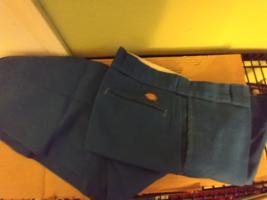 Dickies 874 Men's Pants Original Fit Uniform School Work size 36 x 30 Blue - $9.25