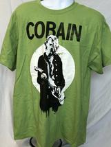 Nirvana-Kurt Cobain-XL Green T-shirt - $19.34