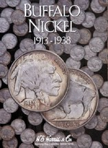 Buffalo Nickel Coin Folder Album 1913-1938 by H.E. Harris - $6.49