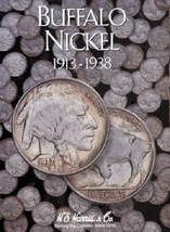 Buffalo Nickel Coin Folder Album 1913-1938 by H.E. Harris - $6.49
