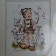 "Little Goat Herder Hummel Needle Treasures Counted Cross Stitch Kit 8x10"" 02678 - $19.79"