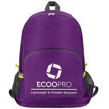 Lightweight Packable Backpack ECOOPRO Foldable Collapsible Backpacks Wat... - $16.53
