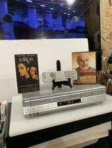 Toshiba SD-V392SU DVD/VCR Combo Vhs Recorder Remote & Cable , Works!! - $83.22