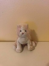 Plush Toy Stuffed Animal Webkinz Cat Pink & White No Code Ganz - $0.99