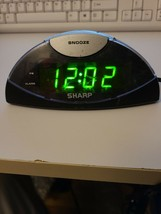 Sharp SPC019A Digital Alarm Clock W/ Snooze - $9.83