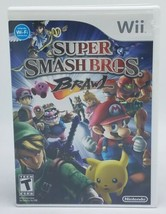 Super Smash Bros. Brawl (Wii, 2008) Video Game Complete W/ Manual & TESTED - $29.95