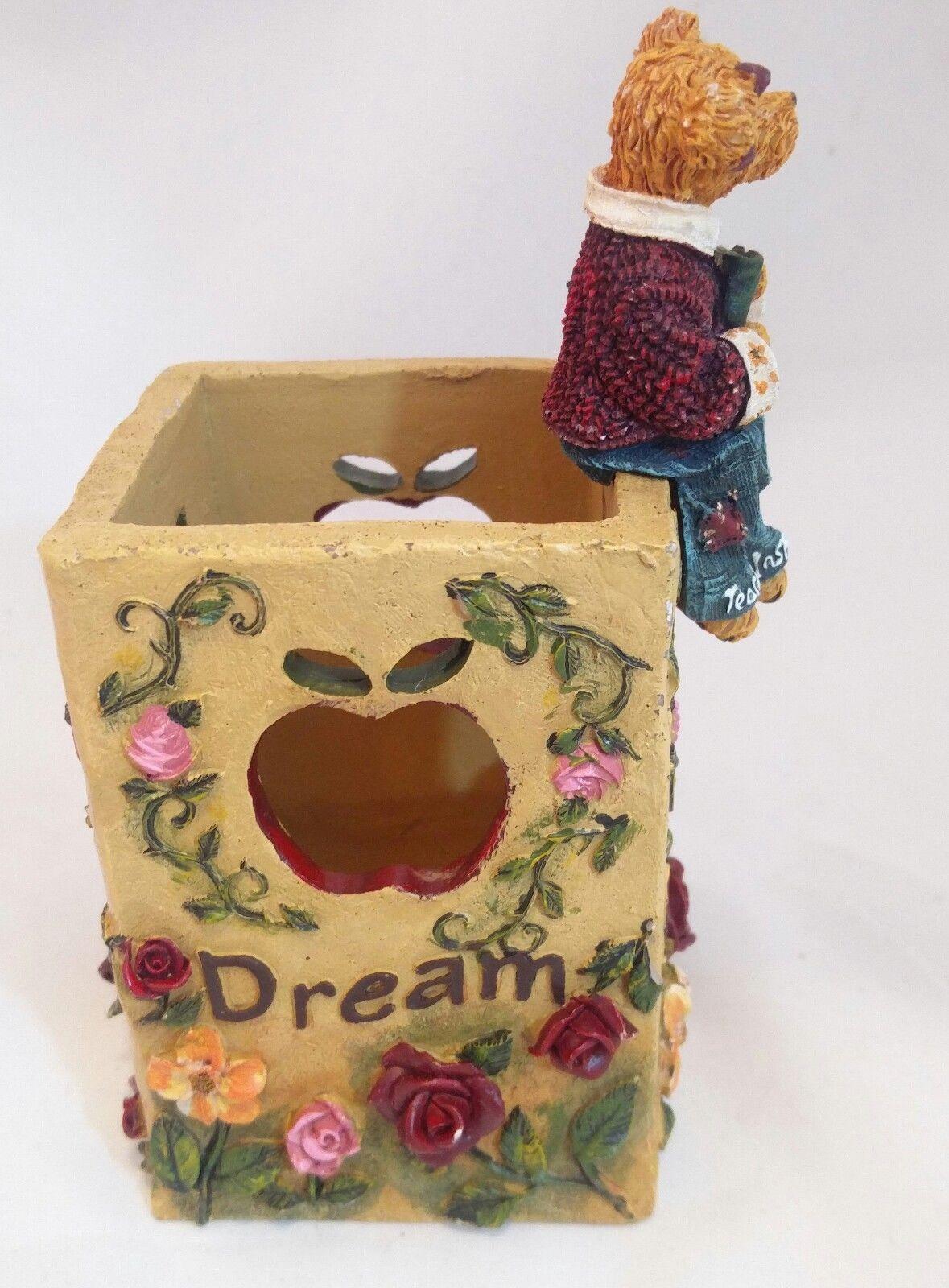 The Bearstone Collection Miss Ann Lighten's Pencil Holder #4016624 Teacher Gift image 5