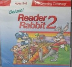 Deluxe! Reader Rabbit 2 Ages 5-8 CD-ROM image 1