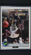 Shaquille O'Neal Signed Autographed 1992 Classic Rookie Basketball Card ... - £22.88 GBP