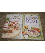 PAMPERED CHEF 2 SEASON'S BEST 1999 & 2000 COOKBOOK - $6.99