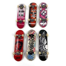 6 Tech Deck Skateboard Finger Board Devil Man Scheckler ATM Finesse Romero - $14.01