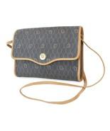 Authentic VTG CHRISTIAN DIOR Black PVC Shoulder Bag Purse #38322 - $389.00