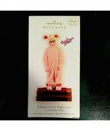 1 HALLMARK 2009 A CHRISTMAS STORY Ralphie's Pink Nightmare Pajamas Ornam... - $72.19