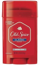 High Endurance Deodorant Long Lasting Stick Classic By Old Spice 2.25 Ounce 4 CT - $9.49