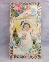 Victorian trade card. Lacto-Chocolate Co. Columbus, OH - $12.99