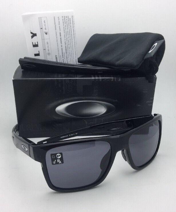 3e7973fba1 New OAKLEY Sunglasses CROSSRANGE OO9361-01 Black Frame w Interchangeable  Temples