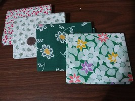 RJR Everything But Kitchen Sink Retro 1930's Fabric 4 Fat Quarters Green... - $9.99