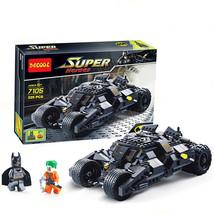 NEW Release Batman Tumbler Batmobile Building Blocks 325pcs Batman Car M... - $30.99+