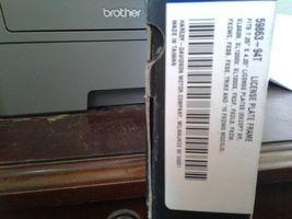 Harley Chrome License Bracket / Frame P/N: 59863-94T image 3