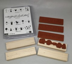 NEW Stampin Up 2005 It All Adds Up Congratulations/Baby/Marry/B'day - $9.49