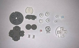OEM Full Set Replacement Button for Nintendo Wii U Gamepad Controller White - $9.91 CAD