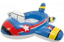 Intex Pool Cruiser Inflatable Swimming Pool Float Toddler Ring Raft Boat - $13.99