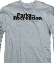 Parks and Recreation long sleeve t-shirt American sitcom graphic tee NBC199 image 3