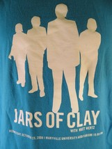 JARS OF CLAY Event Staff 2006 Maryville University St Louis MO T-Shirt Size L - $22.27