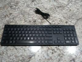 DELL Keyboard KB216 BK US ORKRON BLACK USB Keyboard USED - $17.09