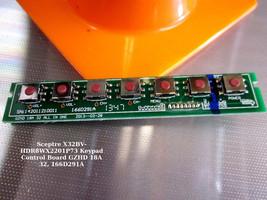 Sceptre X32BV-HDR8WX2201P73 Keypad Control Board GZHD 18A 32, 166D291A - $11.96