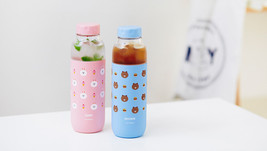 Line Friends Character Tritan Water Bottle 2 Types Brown Cony Official Goods