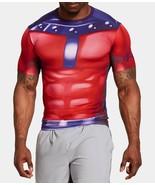 Men's Under Armour Alter Ego X-Men Compression Short Sleeve 1253880 601 ... - €48,05 EUR