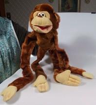 """Vintage Dakin 1984 Plush Toy Monkey Chimp Chimpanzee Hand Puppet 32"""" Lon... - $24.99"""