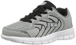 Fila Boys' Star Runner Skate Shoe, Highrise/Black/White, 3 M US Little Kid - €26,06 EUR