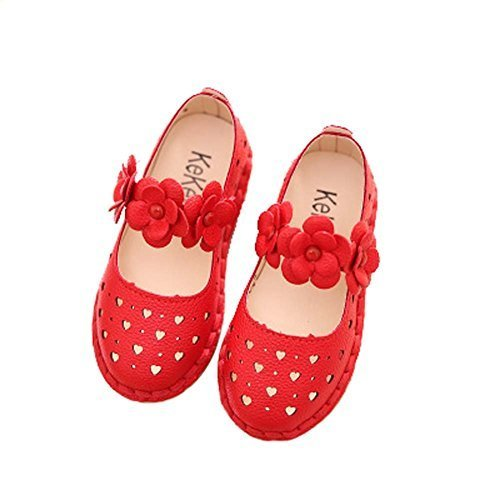 Peas Shoes New Korean Girls Princess Shoes Soft Bottom Baby Shoes