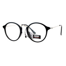 Nerd Eyewear Clear Lens Glasses Vintage Fashion Round Frame Eyeglasses - $8.95