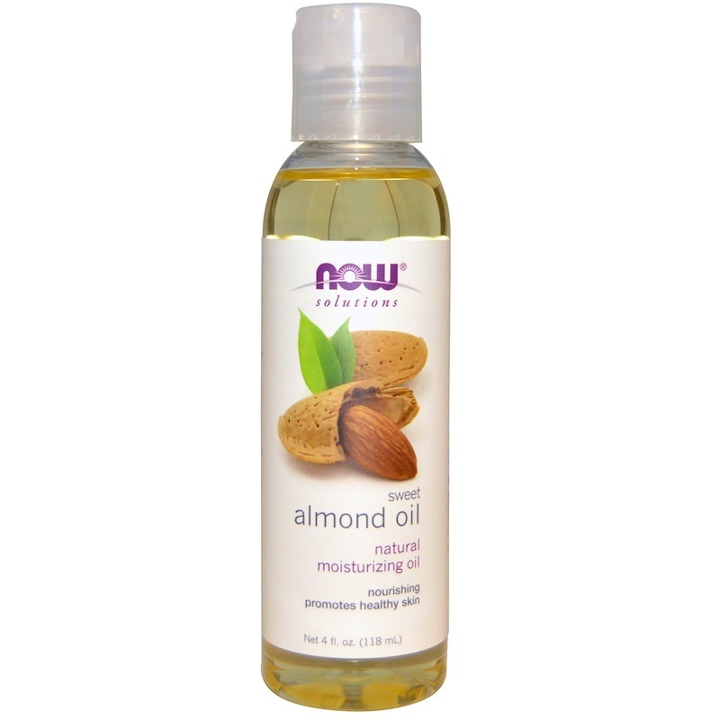 Now Foods Solutions Sweet Almond Oil 4 fl oz 118 ml Aromatherapy Essential Oils