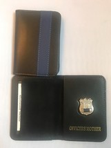 NY Police Officer Thin Blue Line Officer Mother  Mini Shield  ID Wallet - $22.28