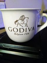 GODIVA Belgium 1926 Over Sized White Large Ceramic Coffee Cup 20 oz Netherlands  image 2
