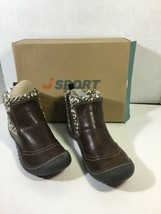 J-Sport by JAMBU, 'Darcie' Brown with Knit Inset Booties, size womens 9 New - $51.38