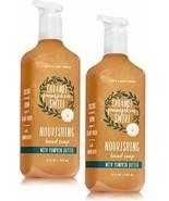 Bath and Body Works 2 Pack Caramel Pumpkin Swirl Nourishing Hand Soap. 8 Oz - $24.70