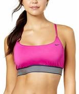 Nike Cross-Back Sport Performance Bikini Top (Fuchsia Blast, L) - $42.45