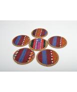kilim coasters ,Coaster,new year gift, 4,5'', handmade coaste ,homedecor... - $29.00