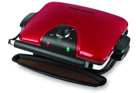 George Foreman - GRP92R - Indoor Electric Grill & Panini Maker - Red - ₹6,409.46 INR