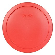 """Pyrex 7402-PC Red Round Storage Replacement Lid Cover fits 6 & 7 Cup 7"""" ... - €7,97 EUR"""