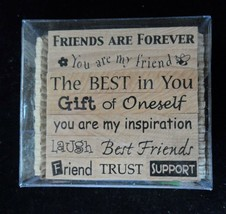 Friendship Phrases Rubber Stamps PSX Pixie Expressions 10 ct Sentiments ... - $4.46